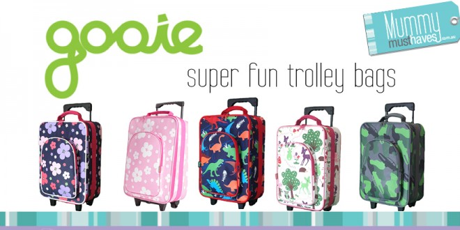 Kids Luggage: gooie trolley bag REVIEW