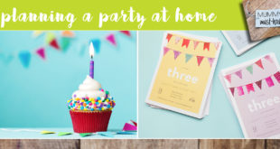 planning a kids party